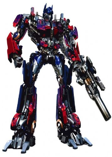 TRANSFORMERS - OPTIMUS PRIME CUT OUT ART canvas print - self adhesive poster - photo print